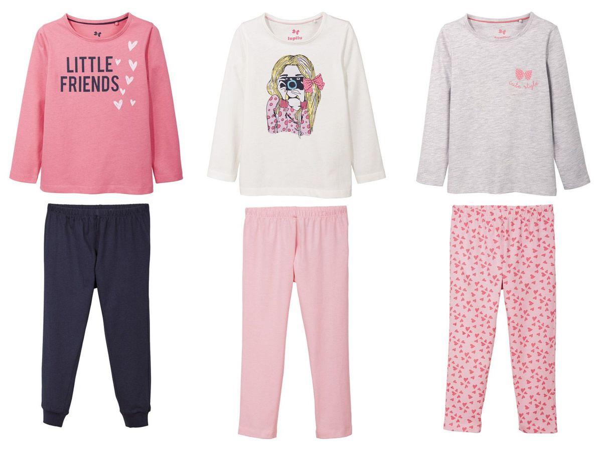 Bild 1 von LUPILU® Kleinkinder Mädchen Pyjama