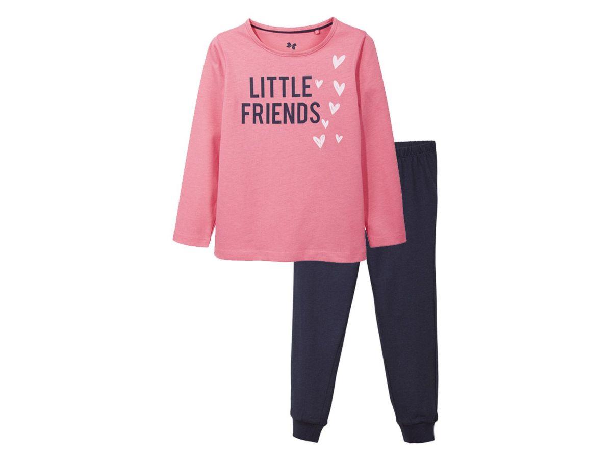 Bild 2 von LUPILU® Kleinkinder Mädchen Pyjama