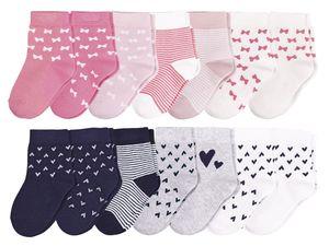 LUPILU® 7 Paar Kleinkinder Mädchen Socken