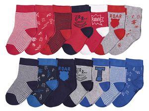 LUPILU® 7 Paar Kleinkinder Jungen Socken