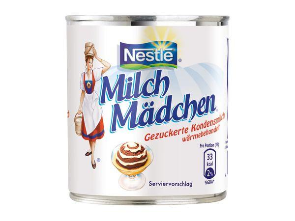 Nestlé Milchmädchen