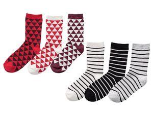 PEPPERTS® 3 Paar Mädchen Socken