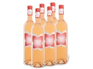 6 x 0,75-l-Flasche Côtes de Provence AOP trocken, Roséwein