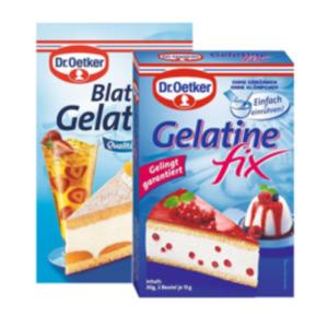 Dr Oetker Blatt Gelatine