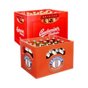 Erdinger Weissbier oder Budweiser