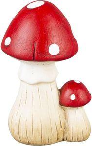 Pilze - aus Terrakotta - 8 x 6,5 x 12,5 cm