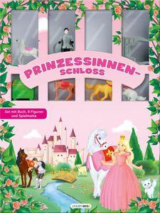 Prinzessinnenschloss - Buch mit Spielfiguren