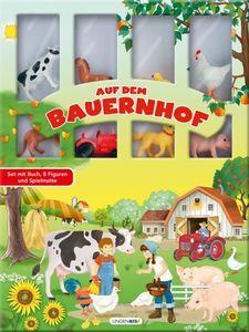 Auf dem Bauernhof - Buch mit Spielfiguren