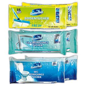 Saubermax Feuchte Reinigungstücher