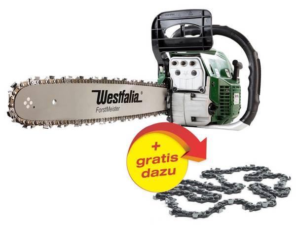 Benzin Kettensäge GM BK 4545 + GRATIS DAZU Sägekette Forstmeister