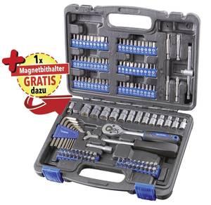 Steckschlüssel- und Bit Satz 133-teilig + GRATIS dazu 1 Magnetbithalter Westfalia