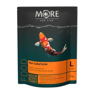 MORE FOR FISH Koi Farbfutter 6mm