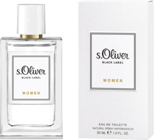 s.Oliver Eau de Toilette Black Label women