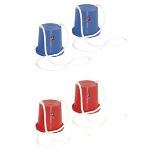 Hudora - Topfstelzen Joey, rot/blau, sortiert