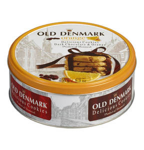 "Jacobsen´s Bakery             Jacobsen´s Of Denmark ""Old Denmark""-Original Dänische Cookies Chocolate & Orange, 150g-Dose                 (3 Stück)"
