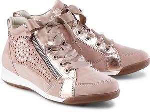 Hightop Sneaker von Ara in rosa für Damen. Gr. 38