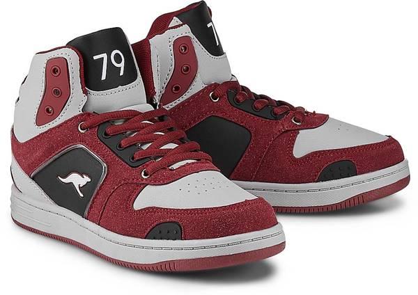 outlet store ee4c1 ed13d Led Sneaker von Kangaroos in grau für Jungen. Gr. 34,40