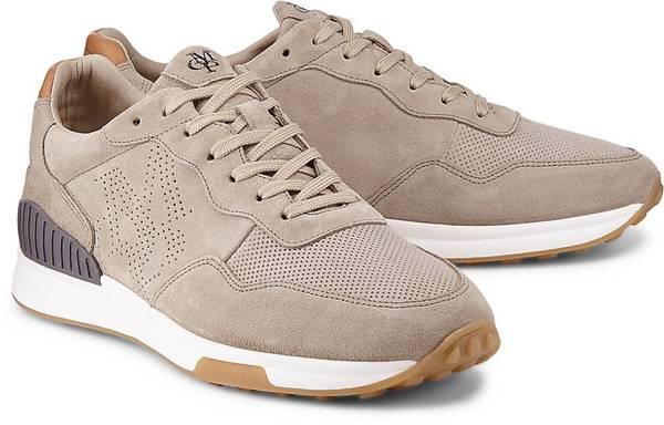 Nubuk Sneaker von Marc O'Polo in beige für Herren. Gr. 44