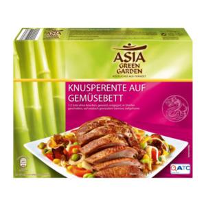 ASIA GREEN GARDEN     Knusperente auf Gemüsebett