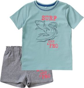Set T-Shirt + Shorts NITZELARS , Organic Cotton Gr. 80 Jungen Baby