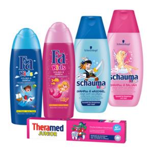 Zahncreme / Duschgel / Shampoo