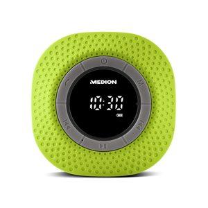 MEDION LIFE® E66554, Duschradio mit Bluetooth-Funktion, Bluetooth 4.0, PLL UKW Radio, Freisprecheinrichtung, Saugnapf