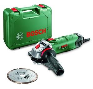 Bosch Winkelschleifer PWS 850-125 850 W, inkl. Diamanttrenn- und Schruppscheibe ,  850 W, inkl. Diamanttrenn- und Schruppscheibe