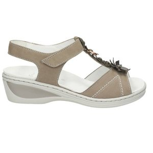 Damen Sandalette, beige