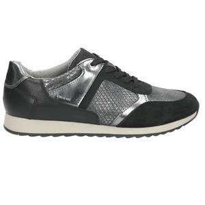 Damen Sneaker, schwarz - kombiniert