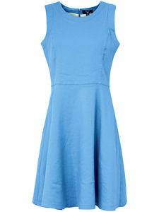 Ärmelloses Kleid GANT blau
