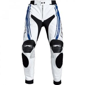 FLM            Sports Leder Kombihose 1.0 weiß/blau 56