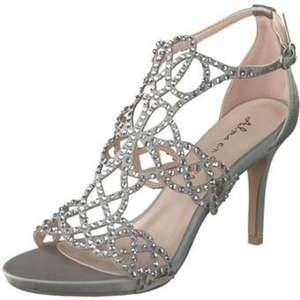 Alma en Pena Sandale Damen grau