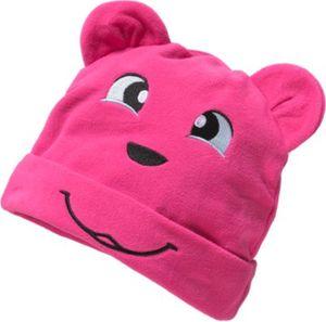 Mütze mit Teddyöhrchen Gr. 50 Mädchen Kleinkinder