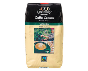 ONEWORLD®  Caffè Crema Ganze Bohne