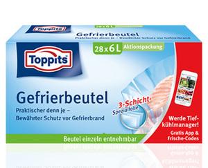 Toppits®  Gefrierbeutel