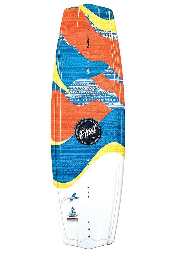 O´Brien Pixel 132 cm - Wakeboard für Damen - Mehrfarbig