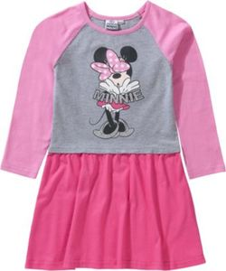 Disney Minnie Mouse Kinder Jerseykleid Gr. 116/122 Mädchen Kinder