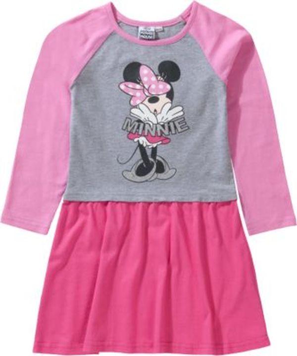 Disney Minnie Mouse Kinder Jerseykleid Gr. 116/122 Mädchen Kinder