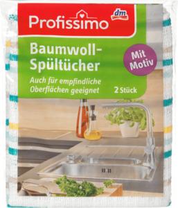 Profissimo Baumwoll-Spültücher