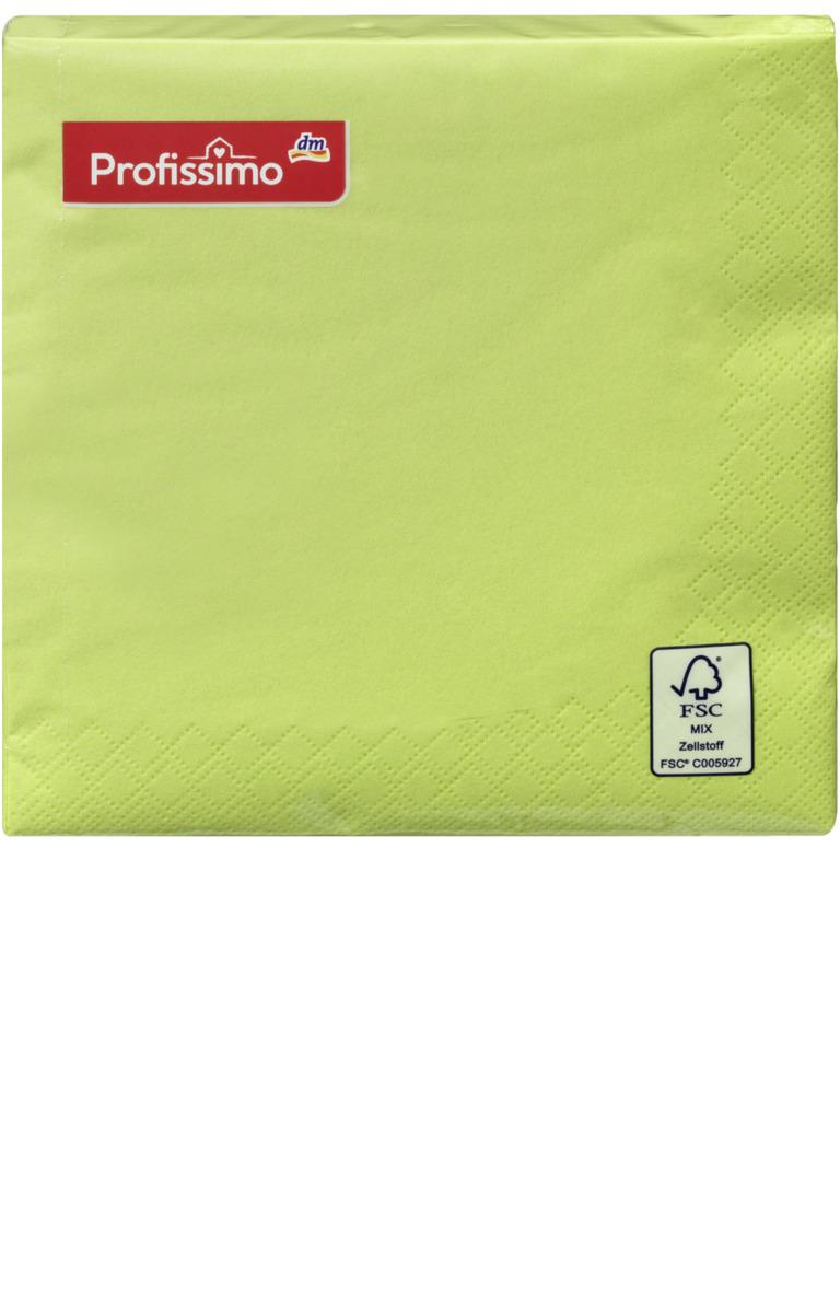Bild 1 von Profissimo Serviette 33 x 33 cm grün