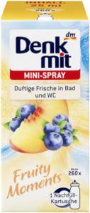 Denkmit Lufterfrischer Mini-Spray Fruity Moments Nachfüller