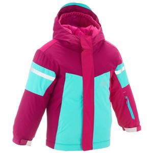WED´ZE Skijacke Kid 300 Kinder rosa/violett, Größe: 3 J. - Gr. 95