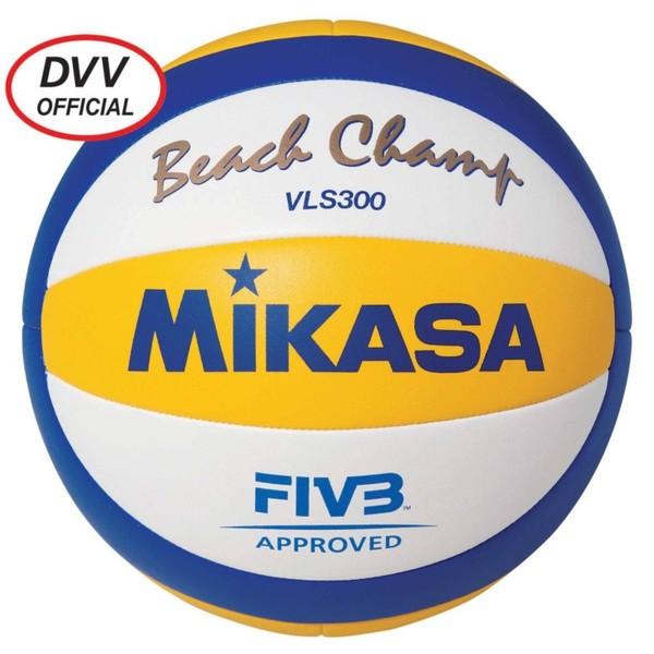 MIKASA Beachvolleyball Beach Champ VLS 300, Größe: Einheitsgröße