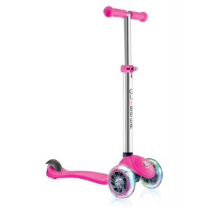 TEMPLAR Scooter Primo Lights Kinder rosa, Größe: Einheitsgröße
