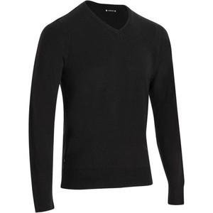 INESIS Pullover V-Ausschnitt First´In Golf Pulli Herren schwarz, Größe: M
