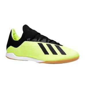 ADIDAS Hallenschuhe Fußball Futsal X Tango 18.3 Kinder gelb/schwarz, Größe: 40
