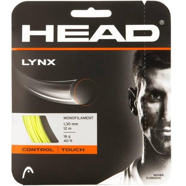 Tennissaite Lynx 1,30 mm Monofaser gelb