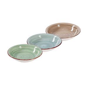 Suppenteller aus Keramik, ca. 21,5x5cm