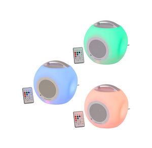 LED-Bluetooth-Lautsprecher, ca. 21x22x20cm