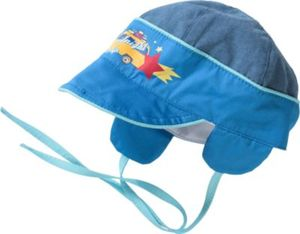Baby Schirmmütze zum Binden Gr. 46 Jungen Kinder